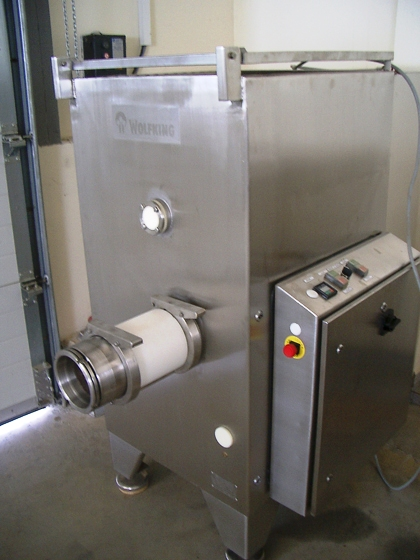 Wolfking 140 mixer-mincer